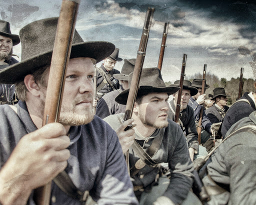 A couple more of my favorite shots from the 150th Bentonville Reenactment